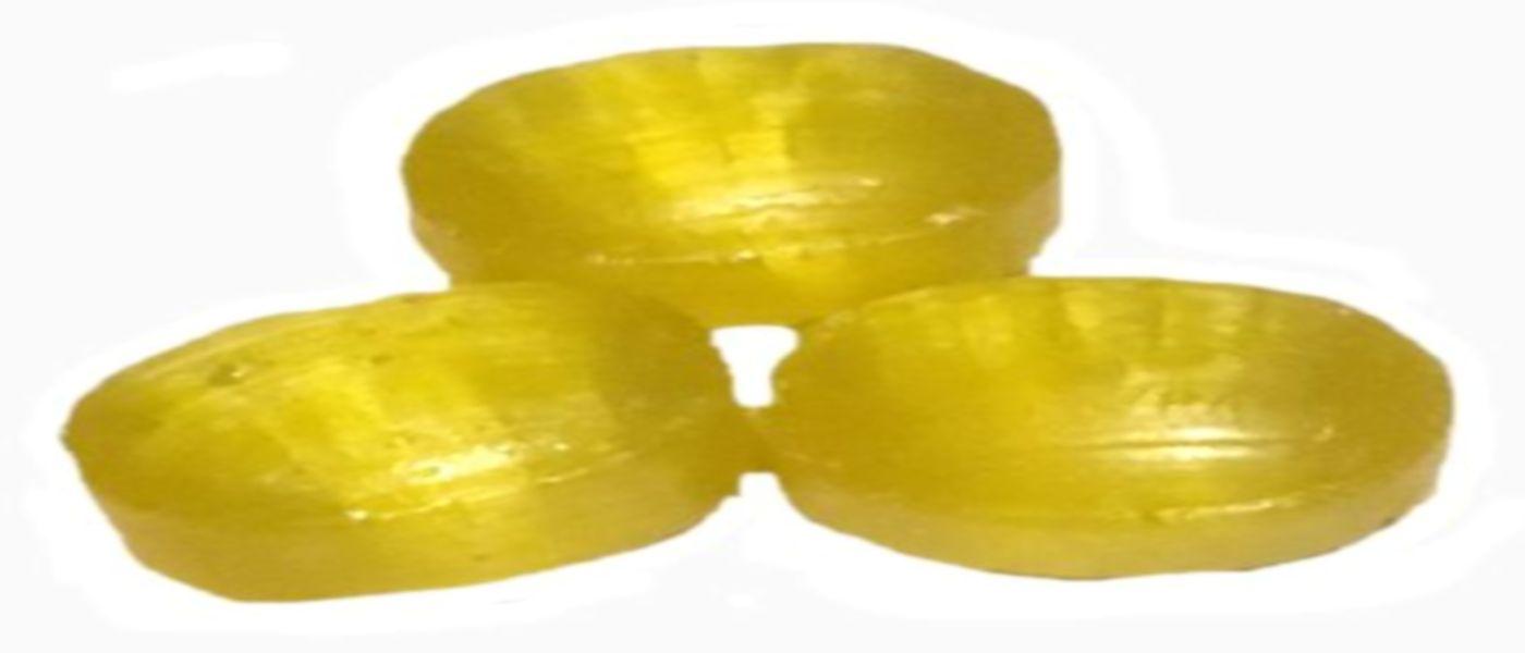 Zuckerfreie Intensiv  Zitrone Bonbon